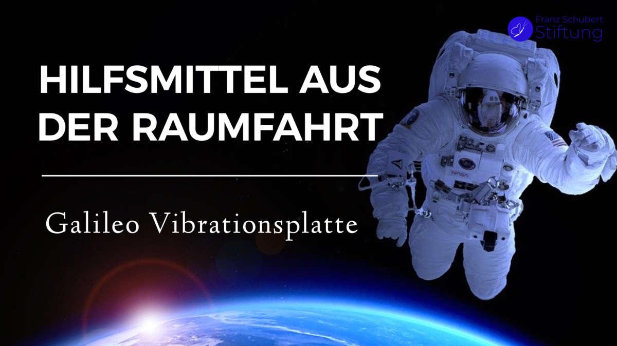 Galileo Vibrationsplatte Weltraumtechnik für kranke Kinder