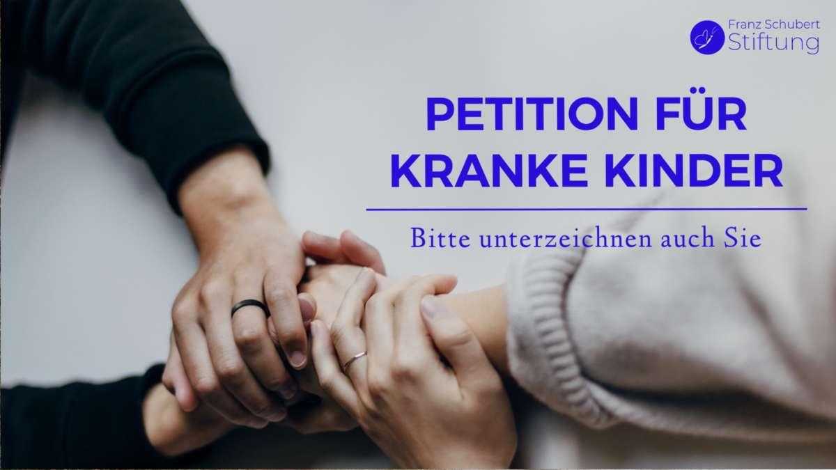 Petition für kranke Kinder