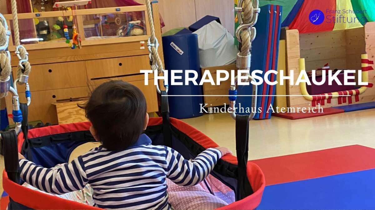 Therapieschaukel Kinderhaus Atemreich München